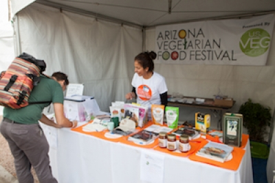 AZ Vegetarian Food Festival to Deliver Champion Athletes and Cooking Demos to Scottsdale