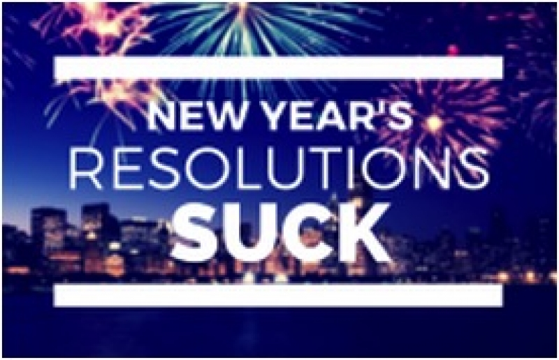 How to Make New Year's Resolutions Not Suck